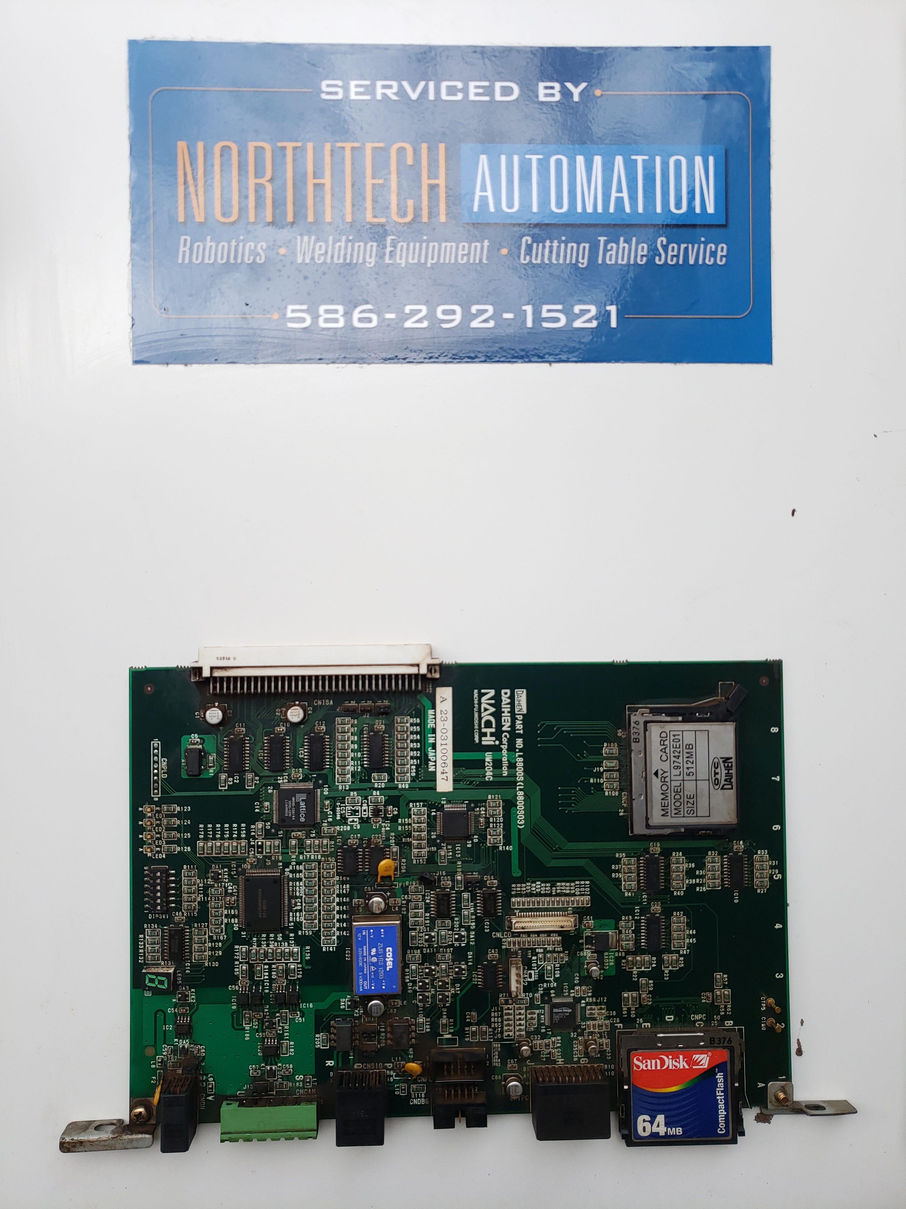 OTC Daihen Nachi Print Board AX Storage Image
